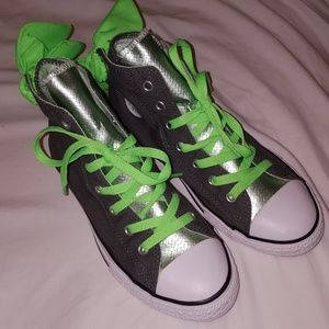 Green Chuck Taylor Shoes